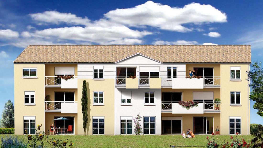 Appartements T1, T2, T3 et T4 avec parking quartier Victor Hugo, Angoulême
